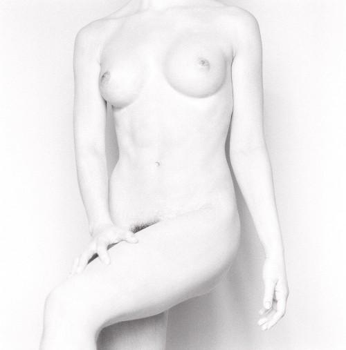 White nude study II