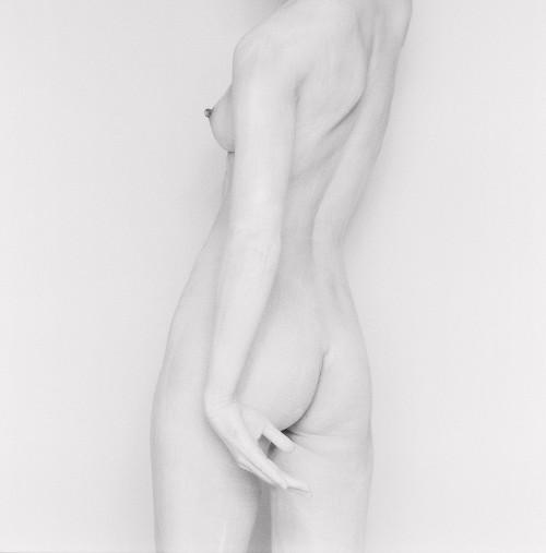 White nude study III