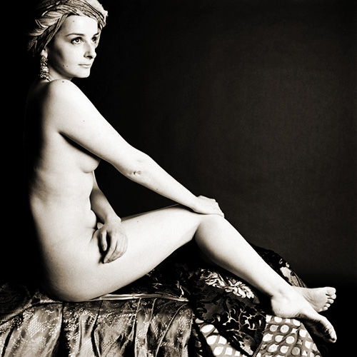 Girl with Turban